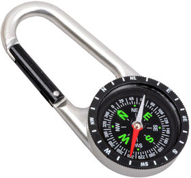 2 in 1 Outdoor Camping Hiking Travel Carabiner Compass - 26