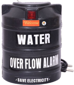 Water Overflow Alarm With High Voice Sound (Save Electricity)