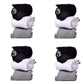 Combo Offer of 6 Pairs Mens Logo Sports Ankle Length Socks