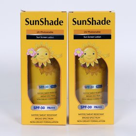 Sunshade sun screen lotion spf-30 (Pack of 2 x 100 ml)