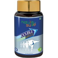 Nature Sure Double Mass Tablets For Weight Gain In Men  Women  1 Pack (90 Tablets)