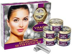 Vaadi Herbals Silver Facial Kit (270 gms)