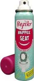 Befikr Happee seat On the go toilet seat sanitizer spray Lemon Pack of 1