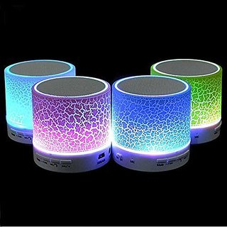 S10 Mini Wireless Portable Plastic Bluetooth Speakers with TF Card Hi fi MP3 Music Player Subwoofer Home Audio