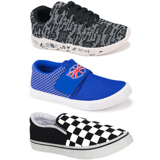 Combo Pack of 3 Best Rated, Light Weight Comfortable Armado Shoes