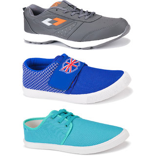 Combo Pack of 3 Top Rated, Best Rated Light Weight Comfortable Swiggy Shoes