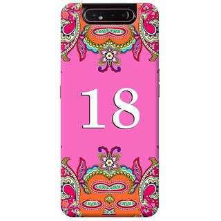 FurnishFantasy Mobile Back Cover for Samsung Galaxy A80 (Product ID - 1376)