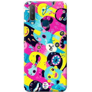 FurnishFantasy Mobile Back Cover for Vivo Y12 (Product ID - 0113)