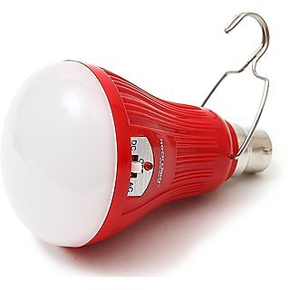 Rv Marketing Rechargeable Led Bulb Mini Inverter Led Emergency Bulb with In-Built Power Back-Up, 15W