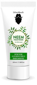 UrbanMooch Organic Neem Face Wash for Instant Glow, Helps Control Pimples and Removes Impurities 100ml