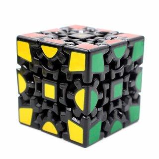 Kidz Magic Cube 3X3 V1 Gear, Black