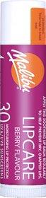 Malibu Sun Stick Berry Flavour Moisturizing water resistant Lip Balm SPF-30,4g