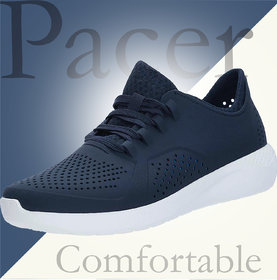 Clymb Pacer Blue Men's Casual Clogs Shoes