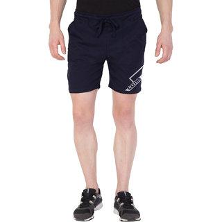 Cliths Men's Line Printed Shorts/Gym Shorts For Men-Navy Blue