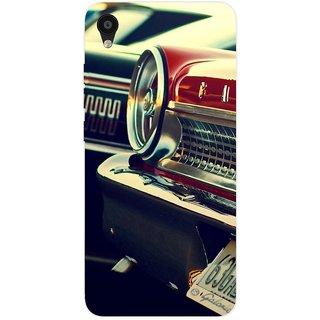 SmartNxt Designer Printed Case for  Tecno Camon iAce/Automobiles/Red