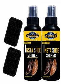 Amwax Shoe Shiner Spray 120ML + 120ML