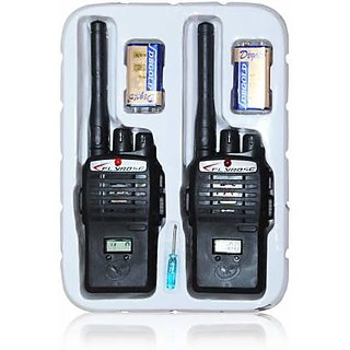 Pack of 2 Multi-Colour Wireless Portable InterPhone Distance Range Walkie Talkie With LCD Display For Kids
