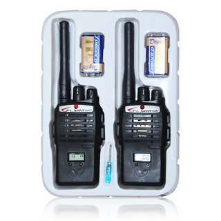 Pack of 2 Multi-Colour Wireless Portable InterPhone Distance Range Unisex Walkie Talkie With LCD Display For Kids