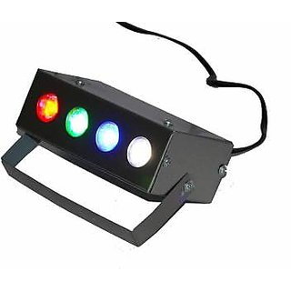 Rv Marketing  Multicolor Min Electric Laser Projector Party Light 4 LED RBGW Stage Lighting Laser Light for Party and DJ