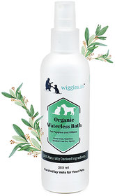 Wiggles Organic Waterless Bath for Puppies and Kittens (200 ml)