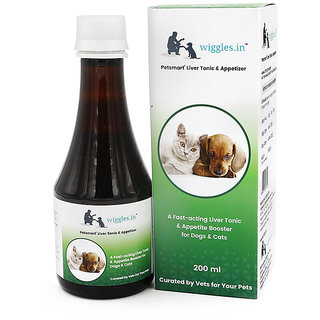 Wiggles Liver Tonic  Appetizer for Dogs and Cats (200 ml)