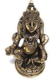 Ashtadhatu Kuberji Gold Plated Murti (Big)