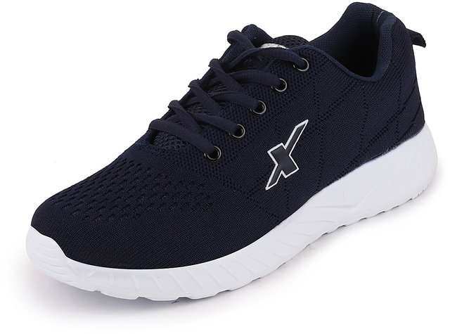 blue White Sports Running Shoes