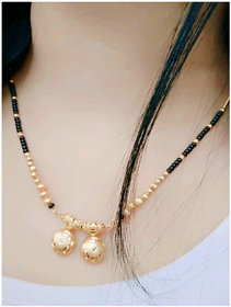 Bhagya Lakshmi Women's Pride Traditional Gold Plated Mangalsutra For Women