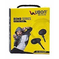 Ubon Bomb Series Powerful Audio Bass Earphone / Headpho
