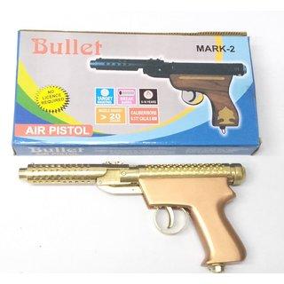 Jgg Golden Air Gun Powerful Range Double Spring Air Gun Free 200 Pellets
