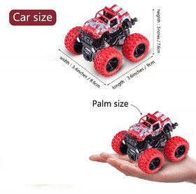 New Pinch Crazy Unbreakable Monster Trucks Friction Powered Cars for Kids, Toddler Toys ( Random Color)