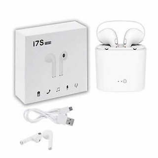 i7S TWS EarPods Wireless Bluetooth Headset AirPods With Mic