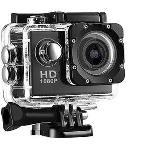Tecbasket 4K Ultra HD 16 MP WiFi Waterproof Action Camera (Black)