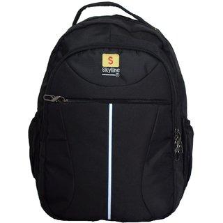Skyline Casual/Office Laptop Backpack Bag- S16 - Black