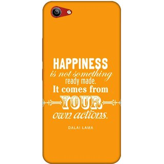 Digimate Printed Designer Soft Silicone TPU Mobile Back Case Cover For Vivo Y81i Design No. 1169