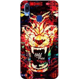 Digimate Printed Designer Soft Silicone TPU Mobile Back Case Cover For Vivo Y93 Design No. 0705