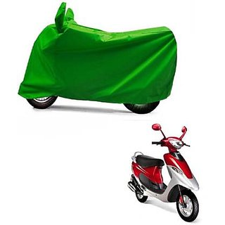 Intenzo Premium  Full green  Two Wheeler Cover for  TVS Scooty Pep