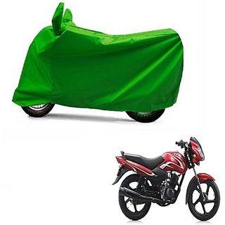 Intenzo Premium  Full green  Two Wheeler Cover for  TVS Sport