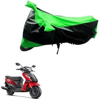 Intenzo Premium  Green Black  Two Wheeler Cover for  suzuki Lets