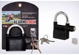 Anti Theft Alarm Lock Motion Sensor Lock Security Waterproof Padlock Bike Lock