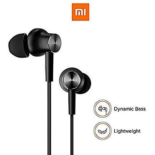 REDMI BASIC WIRED EARPHONE WITH MIC ( BLACK )