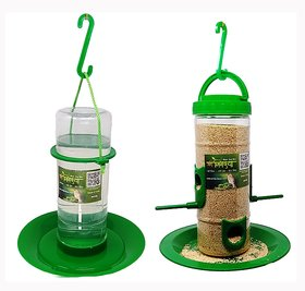medium bird feeder  medium water feeder combo