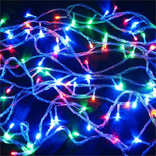 Outdoor LED Fairy String Lights 15 Mtrs. with Multi Mode Remote for Diwali Christmas, Festival, Decoration (Multicolor)