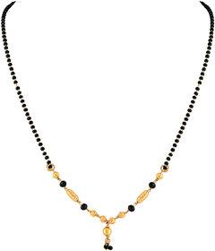 Asmitta Pretty Designer Gold Plated Princess Style Mangalsutra For Women