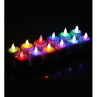 Decorative Colorful Tea Lights DIYAS contains 10pieces Save Money Time3 Days For Diwali