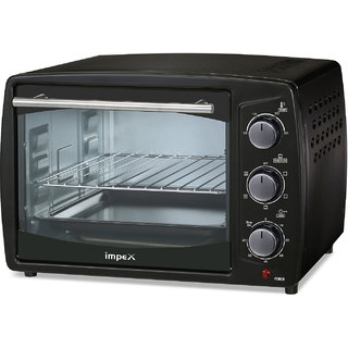 Impex IMOTG-19 Litre Oven Toaster Grill (OTG) with Convection Function (Black)