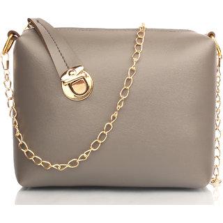 Mammon Stylish sling bags for Girls  Women(slg-C-lock-grey)
