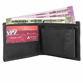 Black Formal Purse for Man Artificial Leather Men's Wallet Multiple Business Card Holder Casual Wallet Gift