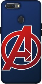 LLAVEA BEST-COLLECTION Oppo A5 3D Back Cover with Full Proof Protection, Stylish Design and Premium Look Back Case Cover for Oppo a5 |TRIBAL|AVENGERS  LIFE TIME PRINT(80)