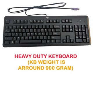 HP 672646-003 PS2 Keyboard (Black, Manufactured by Chicony Electronics Co., Ltd.)